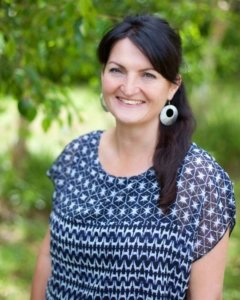 Natural therapist Vanessa Kenny at The Green Room Kapiti